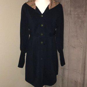 Matilda Jane Hooded Hecket/Sweater Large